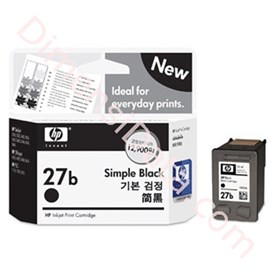 Jual Tinta / Cartridge HP Black Ink 27B [C8727B]